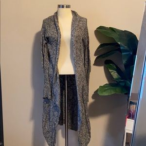 Long cardigan from Nordstrom (sun & shadow)